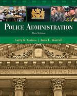 Police Administratio…, 9781439056394