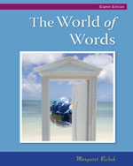The World of Words: …, 9780495802556