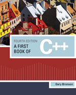 A First Book of C++,…