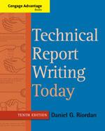 Technical Report Wri…, 9781133607380