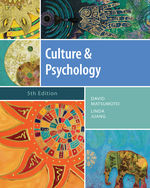 Culture and Psycholo…, 9781111344931