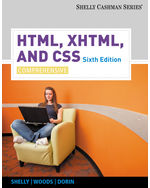 HTML, XHTML, and CSS…, 9780538747547