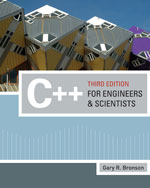 C++ for Engineers an…, 9780324786439