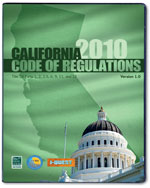 2010 California Code…,9781580019804