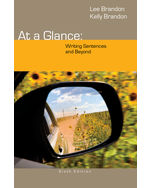 At a Glance: Writing…, 9781285444659
