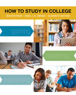 How to Study in Coll…,9781133960782